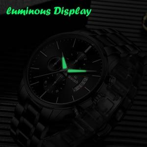 Image 4 - Swish Horloge Mannen 2020 Waterdicht Roestvrij Staal Fashion Sport Quartz Horloge Klok Heren Horloges Top Brand Luxe Man Horloge