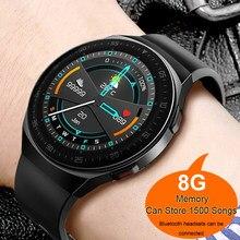 Para xiaomi apple telefone huawei gt2 pro smartwatch masculino android bluetooth chamada ip68 relógio inteligente homem 2021 ecg ppg 8g memória música