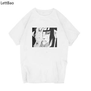 Hot Sale Naruto Print Funny Graphic Anime T Shirts Men/women Summer Harajuku Mens Streetwear Camisa Casual O Collar Custom Shirt(China)