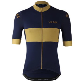 New LE COL Bike Short Sleeve Top Men Cycling Jersey Summer Shirts Pro Team Clothing Bicycle Jacket Quick Dry Jersey Mtb Ciclismo недорого