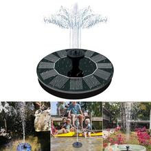 Mini Solar Power Water Fountain Garden Pool Pond Outdoor Solar Panel Bird Bath Floating Water Fountain Pump Garden Decor