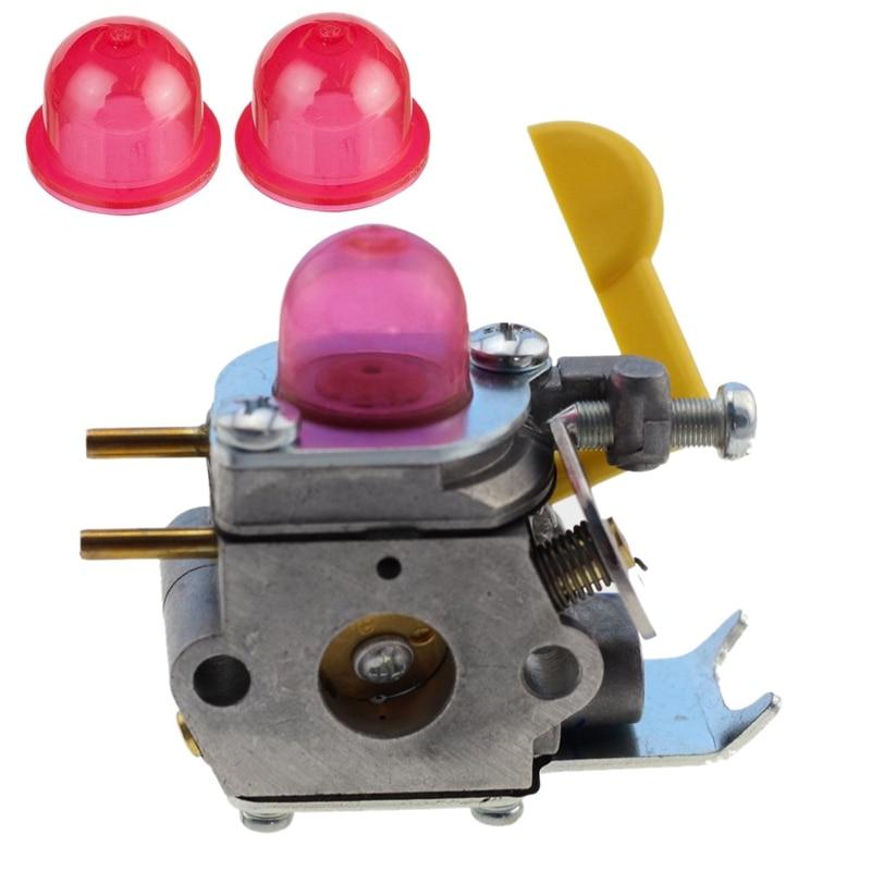 Carburetor Primerbulb Bulb For Poulan Craftman Eater Featherlite Sst25 Fl20 Fl20c Fl23 Fl26 Fx26s Fx26sc Mx550 Mx557 P1500 P25