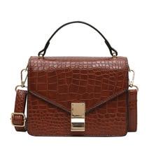 Fashion Stone pattern Crossbody bag women handbags 2019 New Quality Ladies Designer Shoulder Messenger bags female totes Purse