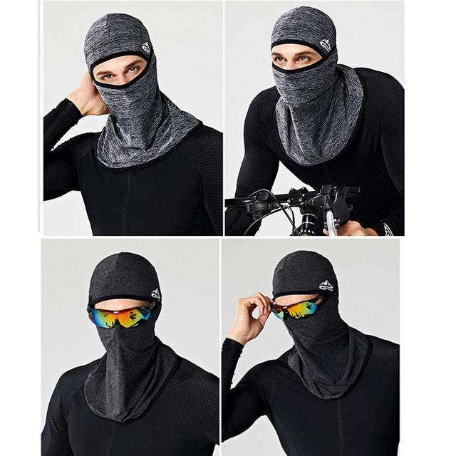 Unisex Outdoor Motorcycle Riding Face Mask Cover Cool Seamless Mask Multifunctional Sports Anti-fall Magic Headscarves Drop Ship 1
