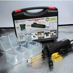 Zderzak palnik do spawania gorący zszywacz samochód Fairing spawarka przenośne plastikowe narzędzia do naprawy z 200 sztuk zszywki