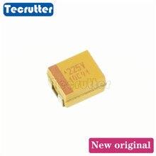 100PCS 3528 B 225V 35V 3528 B 226A 10V  3528 B 226C 16V 3528 B 227J 6.3V 1210 B 2.2UF 22UF 220UF Tantalum capacitor