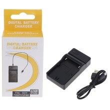 USB pil şarj cihazı Sony NP F550 F570 F770 F960 F970 FM50 F330 F930 kamera