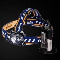 Fenix HP30R Cree XM L2 and XP G2 R5 LED 1750 lumens Headlamp with two Fenix ARB L18 2600 batteries