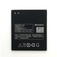 2pcs NEW Original 2250mAh BL208 Battery For lenovo s920 BL208 High Quality Battery + Tracking Number lenovo s920