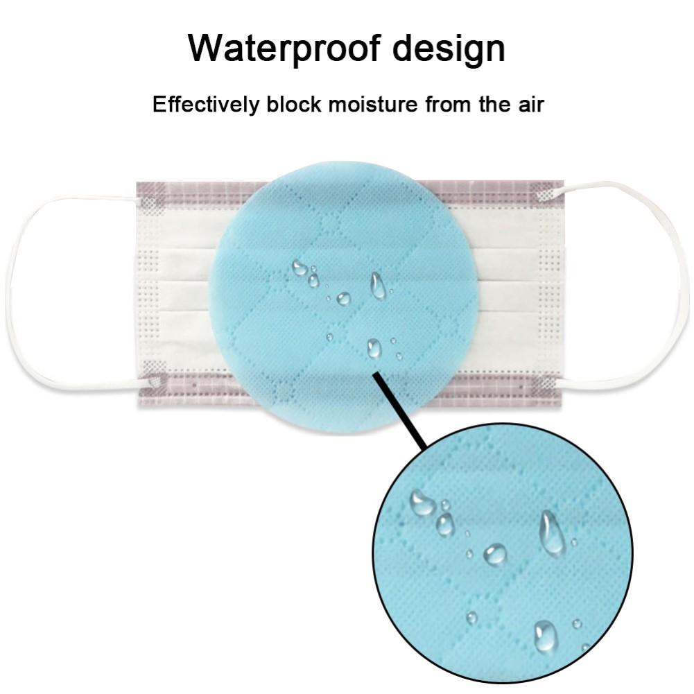 20Pcs Dust Proof Anti Haze Disposable Replace Inner Pads FilterActivated Carbon Filter Insert Protective  For Mouth Mask Safety