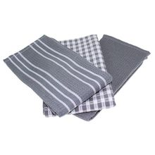 ABUI-классические кухонные полотенца, натуральный хлопок, лучшие чайные полотенца, ткань для посуды, Абсорбирующая и Безворсовая, машинная стирка, 18