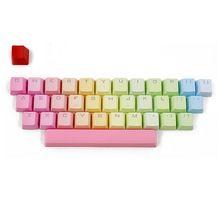 РГБ ПБТ 35 ключей OEM колпачки двойной выстрел с подсветкой для вишня механической клавиатуры