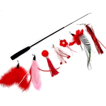 Refill Cat-Teaser-Replacement Kitten-Wand Fake-Feather Interactive-Training-Toys Legendog