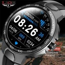 LIGE – montre connectée pour hommes, moniteur d'activité physique, de fréquence cardiaque, multifonction, étanche, avec boîte, nouveau, 2021