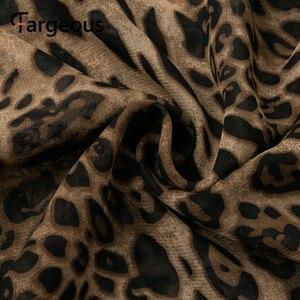 Image 5 - Spagheteei maxivestido con estampado de leopardo, mujer, largo, de gasa, para fiestas nocturnas, Otoño Invierno 2019