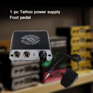 Image 5 - Kit de tatuaje superior, máquina rotativa Airfoil, fuente de alimentación, punta de aguja, agarre