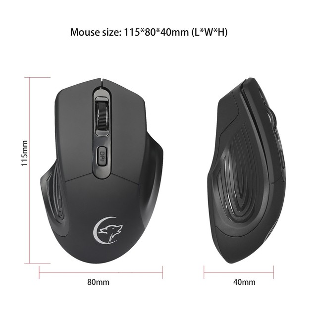 HXB Wireless Mouse For PC Laptop Logitech Mouse Vertical Ergonomic Gaming Mause Wireless Gamer Mouse For Desktop Notebook mi mac