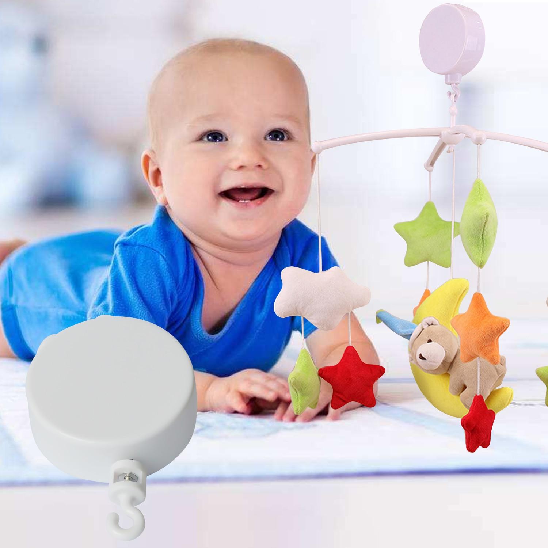 Wind-up Clockwork Mechanical Music Box Musical Movement For Infant Newborn Baby Mobile Crib Bed Stroller Rail Kids Toys