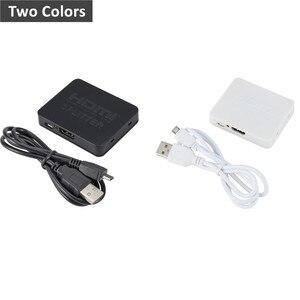 Image 4 - Grwibeou répartiteur Hdmi 1 en 2 sortie 1080p 4K 1x2 décapant 3D répartiteur amplificateur de Signal de puissance 4K répartiteur HDMI pour HDTV Xbox PS3