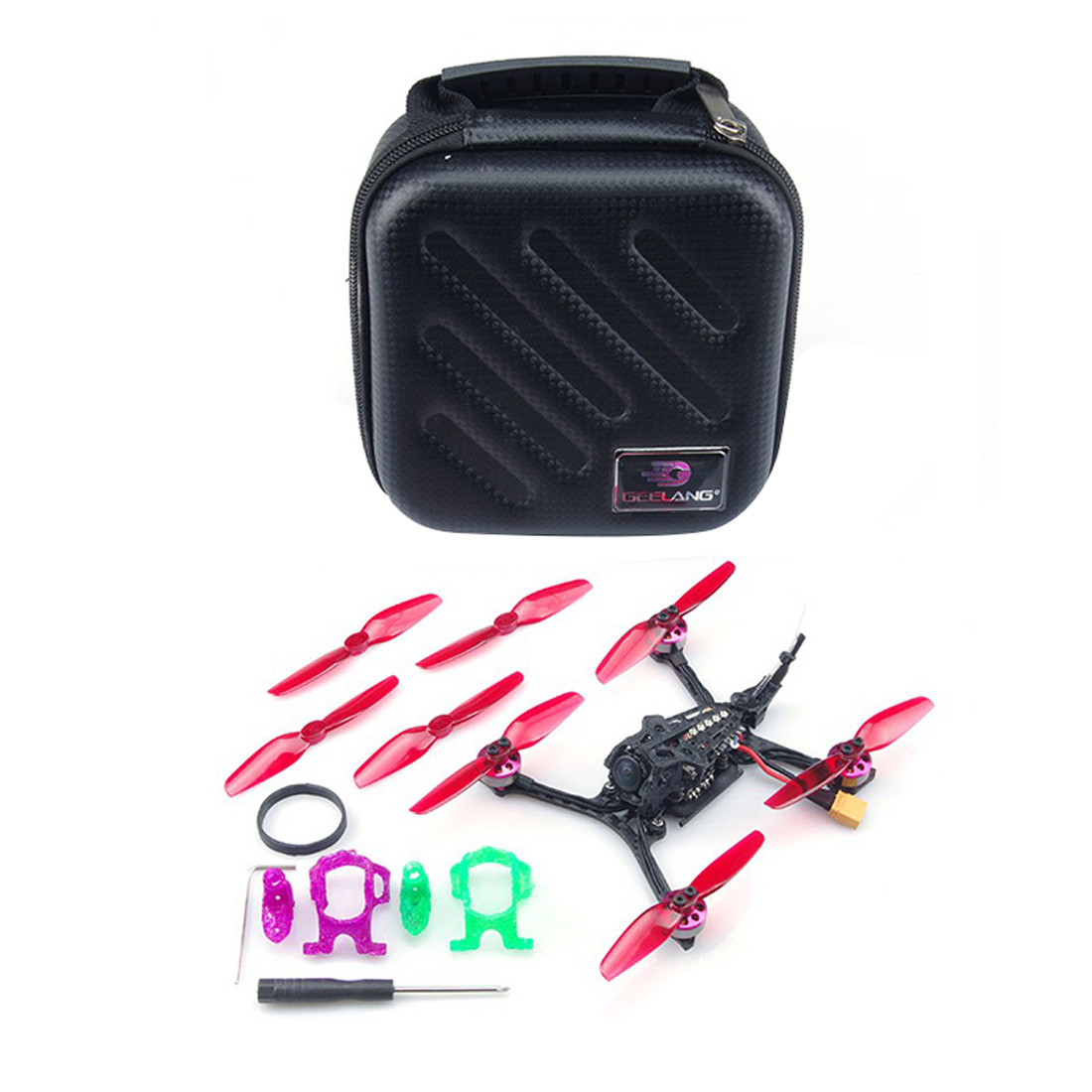 Geelang LIGHTNING 120X Bwhoop 120mm Wheelbase 2-3S FPV Racing Drone Quadcopter BNF/PNP GL1204 KV5000 Brushless