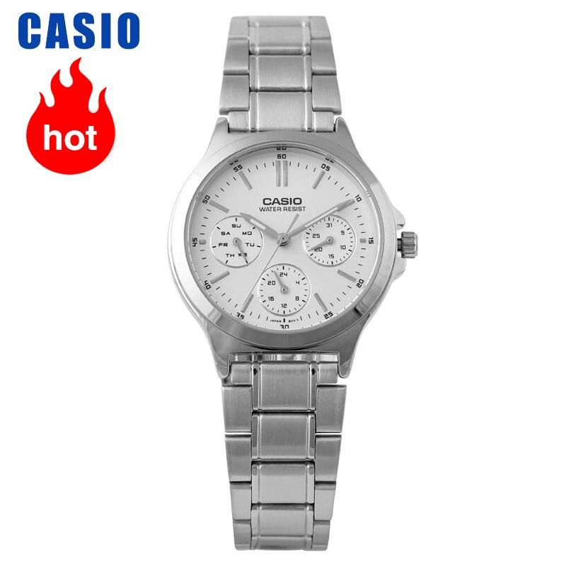 Casio Watch Pointer Series Fashion Quartz Female Watch LTP-V300D-7A