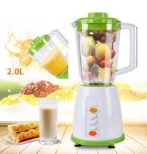 BPA FREE 800W commercial blender food processor 2 group blade juicer smoothie machine egg beater meat grinder стоимость