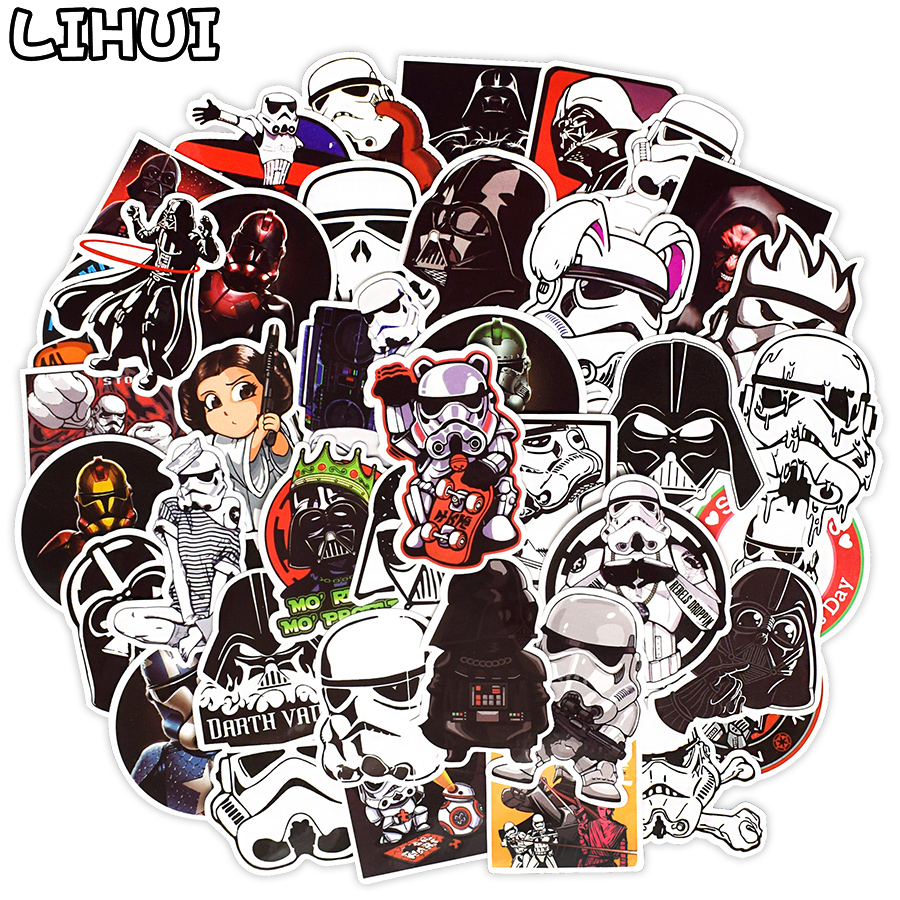 50 PCS Super Cool Anime Stickers Graffiti Cartoon Sticker For Kids DIY Luggage Laptop Skateboard Guitar Fridge Car Doodle Decals