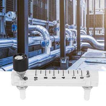 Miernik przepływu wody LZQ-4 natężenie przepływu powietrza miernik 0 ~ 10LPM tlenu dwutlenku węgla miernik do pomiaru miernik przepływu tanie i dobre opinie VBESTLIFE Hydraulika Flow Meter