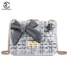 RARE CREATIVE Flowers Letter DIY Crossbody Bags Princess Lovely Brand Shoulder Bag Casual High Quality Flap Women HM6004