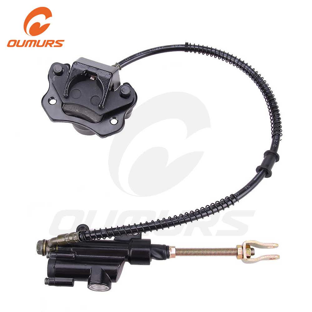 Acouto New Rear Brake Caliper for Many Chinese ATV Dirt Bikes /& Go Karts BC37803600