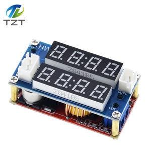 Image 2 - TZT XL4015 5A قابل للتعديل الطاقة CC/CV تنحى تهمة وحدة LED سائق الفولتميتر مقياس التيار الكهربائي ثابت الجهد المستمر