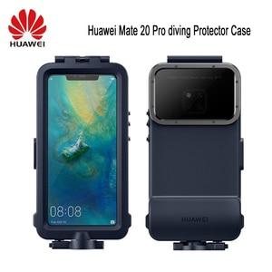 Image 1 - オリジナル Huawei 社シュノーケリングケース Huawei 社メイト 20 プロダイビングプロテクターケース防水公式オリジナル Mate20 プロ水中