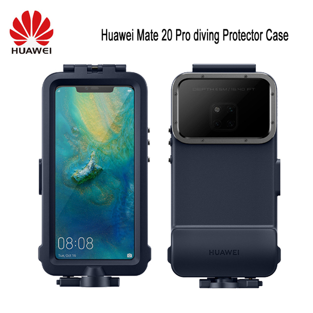 オリジナル Huawei 社シュノーケリングケース Huawei 社メイト 20 プロダイビングプロテクターケース防水公式オリジナル Mate20 プロ水中