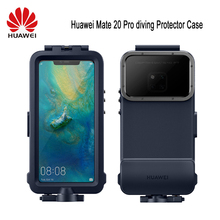 Original Huawei Snorkelling Case For Huawei Mate 20 Pro diving Protector Case Waterproof Official Original Mate20 Pro Underwater