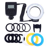 LED Ring Photography Speedlight Light Flashlight Filling Lamp Digital Single Lens Reflex Camera Macro Ring Flashing Lamp