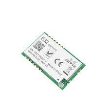 Sx1278 868 mhz 1w smd sem fio transceptor cdsenet E32-868T30S 868 mhz smd selo buraco sx1276 transmissor de longa distância