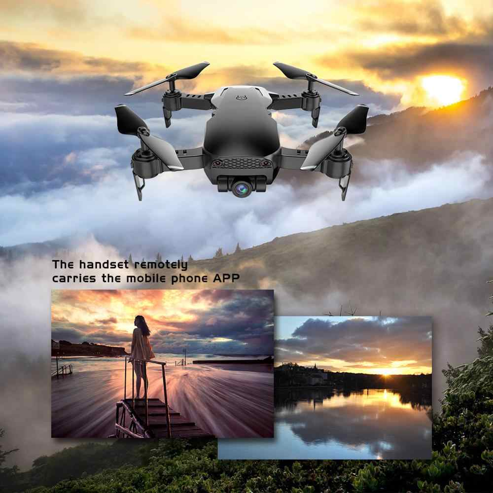 AHOHA WiFi FPV RC Camera Drone with Camera HD 1080P 480P Remote Control Optical Flow RC Quadcopter for Dron for Child Kids Toy