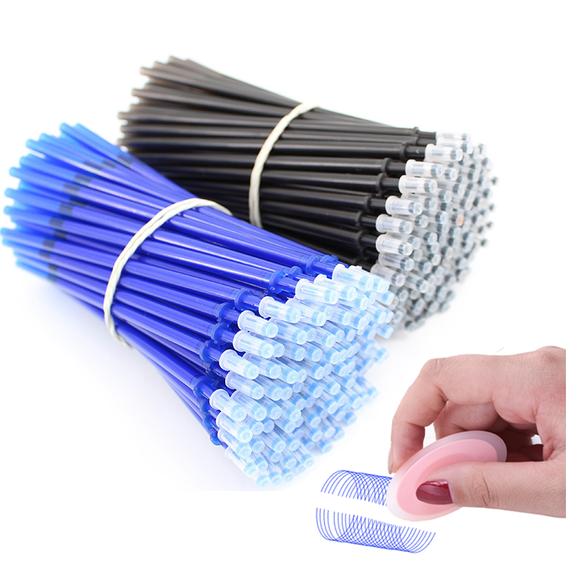 3/20 Pcs/lot Erasable Pen Refills Rod 0.5mm Colorful Ink Magic Erasable Pen Replaceable Refill Office School Writing Supplies
