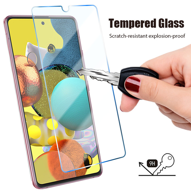 4in1 Tempered Glass for Samsung Galaxy A51 A52 A21S A32 5G Camera Len Screen Protector for Samsung A71 A72 A41 A31 A11 A12 Glass 2