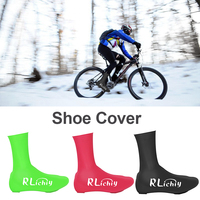 1 paar Warme Schuhe Abdeckungen Mountainbike Winddicht Wasserdicht Reiten Schuhe Abdeckungen Faltbare Silikon Schuhe Schutz