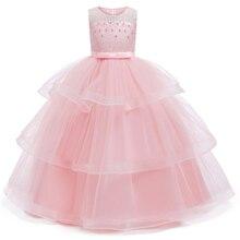 Одежда для подростков от 4 до 14 лет рождественское платье для девочек летнее платье принцессы для свадебной вечеринки платье без рукавов для девочек на год