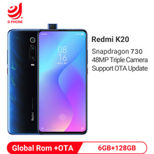 "Prise en charge de la mise à jour globale de la Rom Xiaomi Redmi K20 6GB 128GB Snapdragon 730 Octa Core 4000mAh 48MP caméra AMOLED 6.39 ""Smartphone"