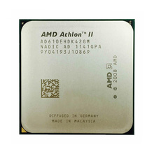 Original CPU AMD Athlon II X4 610E / 620 / 630 / 635 / 640 / 645 AM3 escritorio Quad-Core procesador de CPU