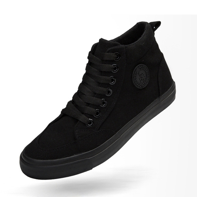 Zapatos de lona para hombre, calzado informal deportivo para exteriores, mocasines planos vulcanizados de alta calidad, moda estudiantil para adultos