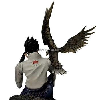 Figura de Sasuke Uchiha sentado en la cabeza de Madara Uchiha de Naruto Shippuden (35cm) Figuras de Naruto Merchandising de Naruto