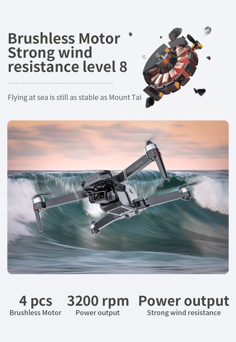 Hf6750db2b8ce4c61a7ecbab871cf84a8b - New KF101 GPS Drone 4K Professional 8K HD EIS Camera Anti-Shake 3-Axis Gimbal 5G Wifi Brushless Motor RC Foldable Quadcopter