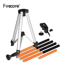 FIRECORE 3.7M Laser Telescoping Pole 5/8 and 1/4 Interface Extend Ceiling Rod Bracket + Hollow Tripod