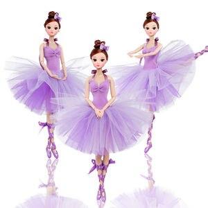 32 см, балетная кукла, модная девочка, BJD, куклы, оригинальная ручная работа, 1/6 кукла, полный набор, 12 шарнирных кукол, игрушки для девочек, детс...