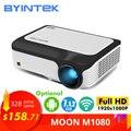 BYINTEK Full HD проектор M1080 1920x1080P  Smart (2 ГБ + 16 Гб) Android wifi проектор  портативный светодиодный мини-проектор для 3D 4K кинотеатра