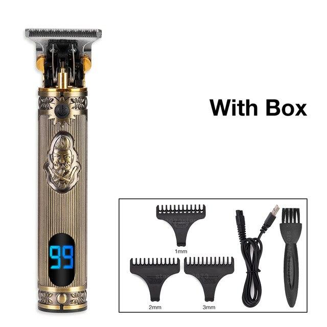 dragão barbeiro aparador cabelo profissional 0mm barba